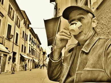 Martin Cooney, Pietrasanta, Tuscany, Rogue Carver on the Loose in Italy