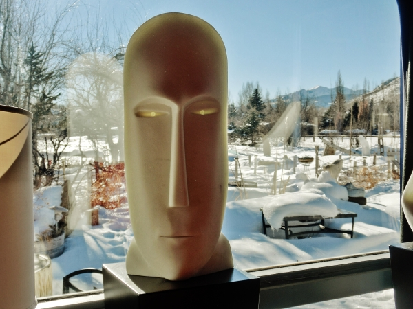 'Salt of the Earth', Colorado Yule Marble Sculpture by MARTIN COONEY