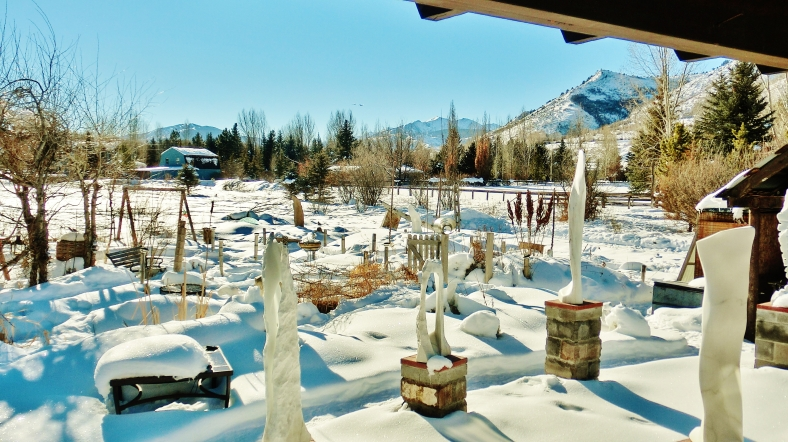 The Sculpture Garden, Woody Creek CO by MARTIN COONEY