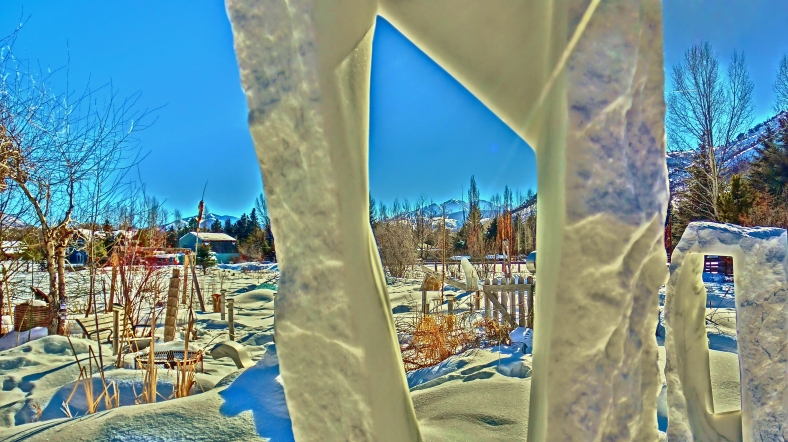 Wold Man Jack view, Standing Stone Circle, Woody Creek CO.