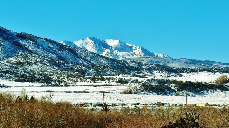 Mt Sopris, CO