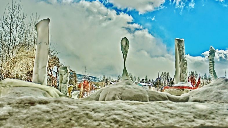Cat Walk, Maypole, Reversed Equation, ,Standing Stone Circle, Woody Creek, CO