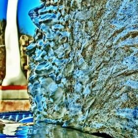 Pareidolia, Ice Sculpture, Bird Mountain Fountain, by MARTIN COONEY, Woody Creek CO