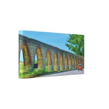 Aqueduct Road, 18 x 9, Wrapped Canvas Print, left