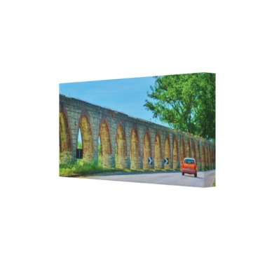 Aqueduct Road, 18 x 9, Wrapped Canvas Print, right