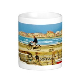 Chance Encounter, Viareggio Pier, Classic Mug, Center