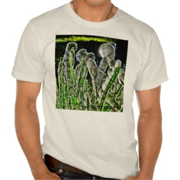 Ice Migration, Men, American Apparel Organic T-Shirt, Front, Close-up, White
