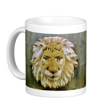 Lenny the Lion, of Massa, Classic Mug, Left