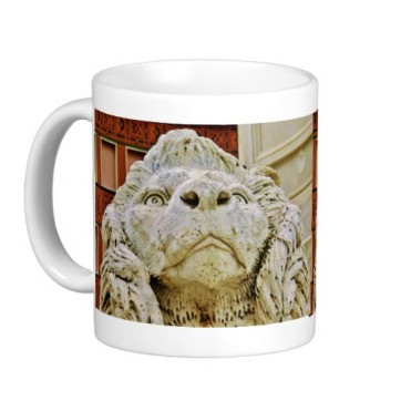 Lion of Massa, The Aloof One, Classic Mug, Left, Zazzle