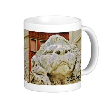 Lion of Massa, The Aloof One, Classic Mug, Right, Zazzle
