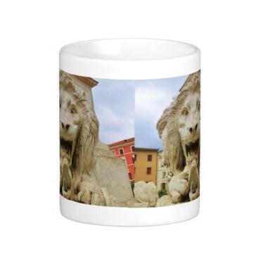 Lion of Massa, The Bold One, Classic Mug, Center, Zazzle