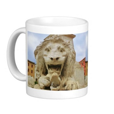 Lion of Massa, The Bold One, Classic Mug, Left, Zazzle