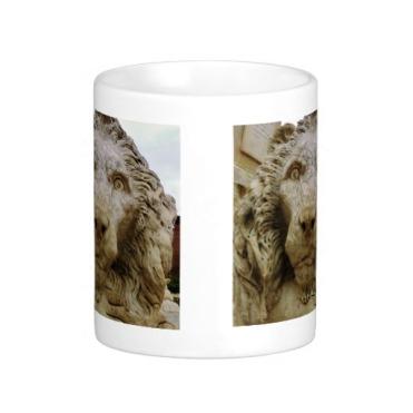 Lion of Massa, The Curious One, Classic Mug, Center, Zazzle