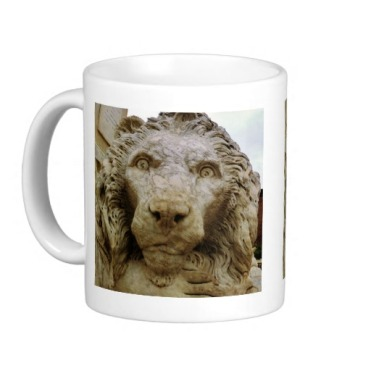 Lion of Massa, The Curious One, Classic Mug, Left, Zazzle
