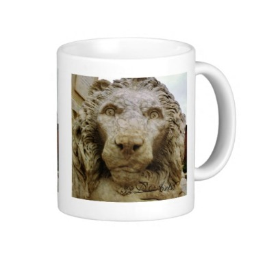 Lion of Massa, The Curious One, Mug