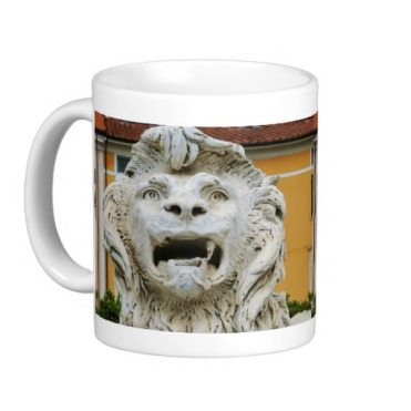 Lion of Massa, The Tortured One, Classic Mug, Left, Zazzle
