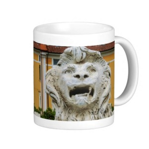 Lion of Massa, The Tortured One, Classic Mug, Right, Zazzle