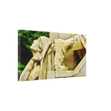 "Pietrasanta War Memorial Detail, 26x13"" Left"