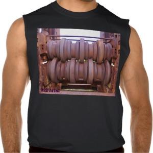 Piombino Castle Prison Yard Crusher, Men, Ultra Cotton Sleeveless T-Shirt, Front, Black