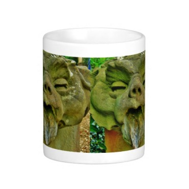 Pitti Palace Garden Gargoyle Mug, Center