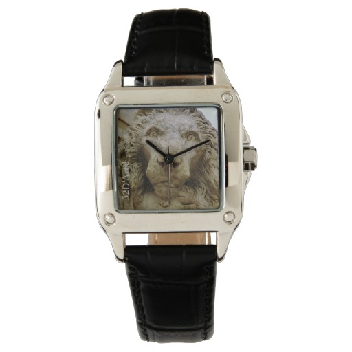 The Curious Lion of Massa, Women, Square Watch