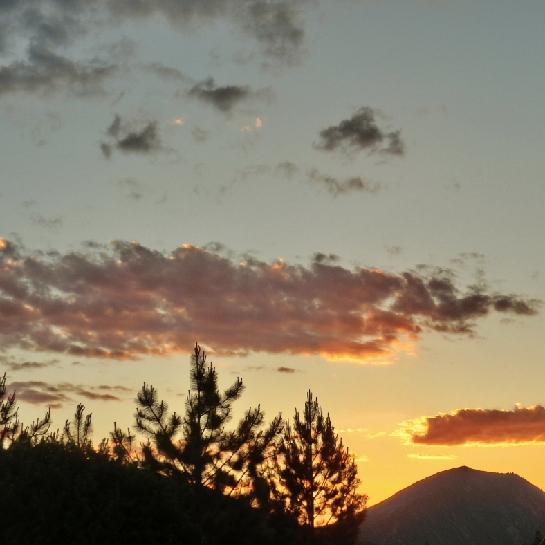 9:42 to 44 pm, June 19 2015, Sunset over Watson Divide,  Woody Creek CO
