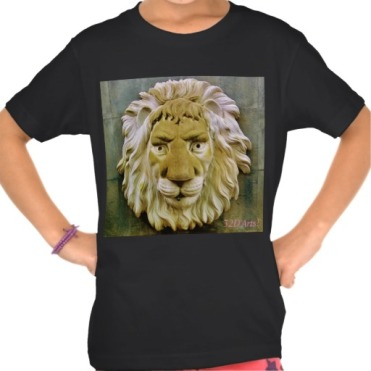 Lenny the Lion Girl's Organic TShirt