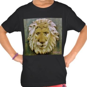 Lenny the Lion Girl's Organic TShirt