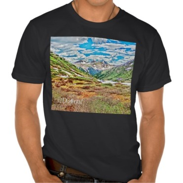 Roaring Fork Headwater No. 1 Men's Organic Tee black