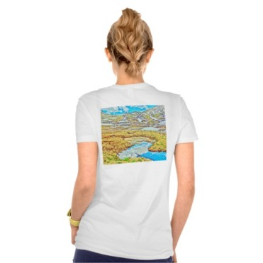 Roaring Fork Headwater No. 5 Women's Bella Tee back