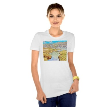 Roaring Fork Headwater No. 5 Women's Bella Tee model