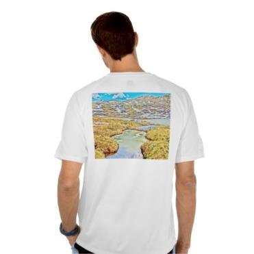 Roaring Fork Headwaters No. 7 Men's Mesh Tee back