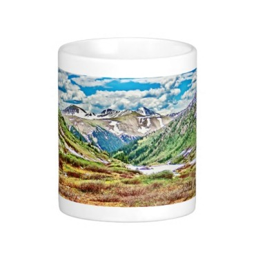 Roaring Fork River, Headwaters No. 1 Classic Mug center