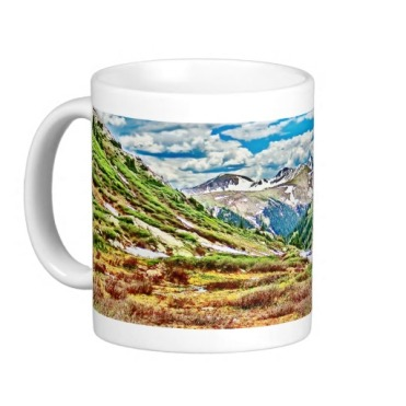 Roaring Fork River, Headwaters No. 1 Classic Mug left