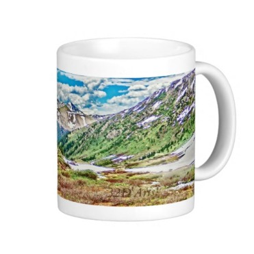 Roaring Fork River, Headwaters No. 1 Classic Mug right