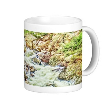 Roaring Fork River, Headwaters No. 13 Classic Mug right