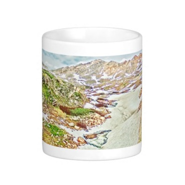 Roaring Fork River, Headwaters No. 9 Classic Mug center