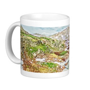 Roaring Fork River, Headwaters No. 9 Classic Mug left