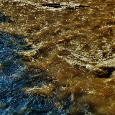 Roaring Fork River, at Ironbridge, Below Aspen