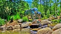 Roaring Fork River, John Denver Memorial Park, Aspen