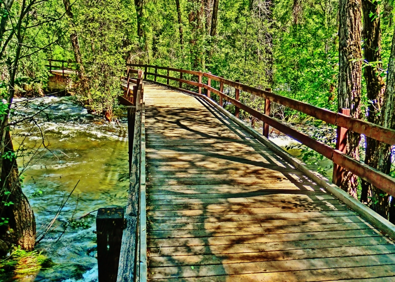 Roaring Fork River Bridge, Aspen Colorado