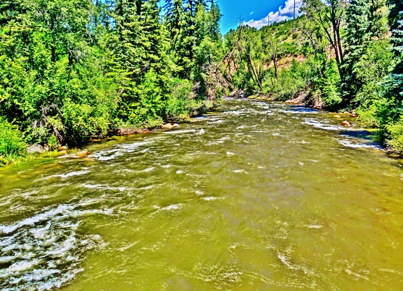 Roaring Fork River, at Woody Creek, Below Aspen