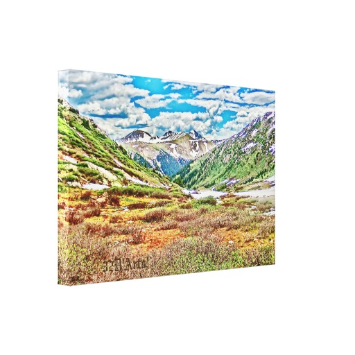 Roaring Fork River, Headwaters No. 1 Canvas Print, left