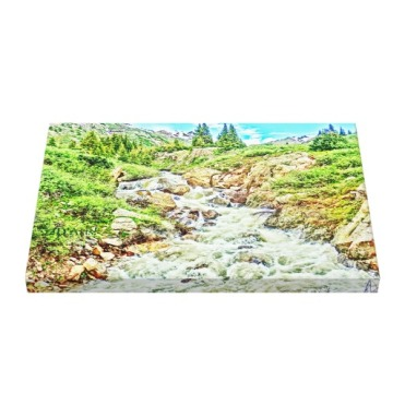 Roaring Fork River, Headwaters No. 3 Canvas Print up