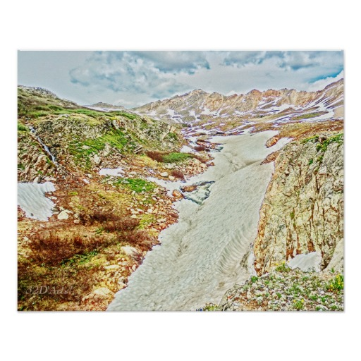 Roaring Fork River, Headwaters No. 9 Poster Print