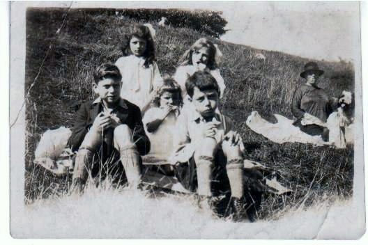 The Templeman Clan somewhere in the West Country of England.