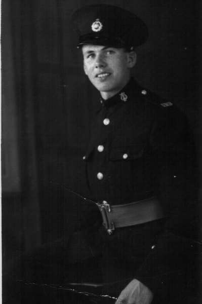 Royal Marine James Parker Cooney, outbreak of WWII