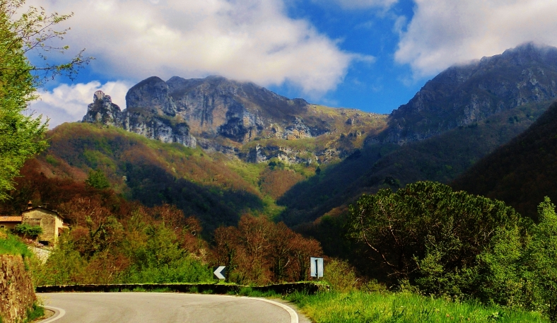 The Road to Forte dei Marmi Hostel, The North West Tuscan Way, by Martin Cooney