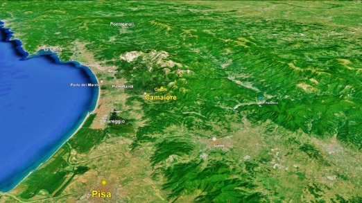 Camaiore Map Google Earth 1