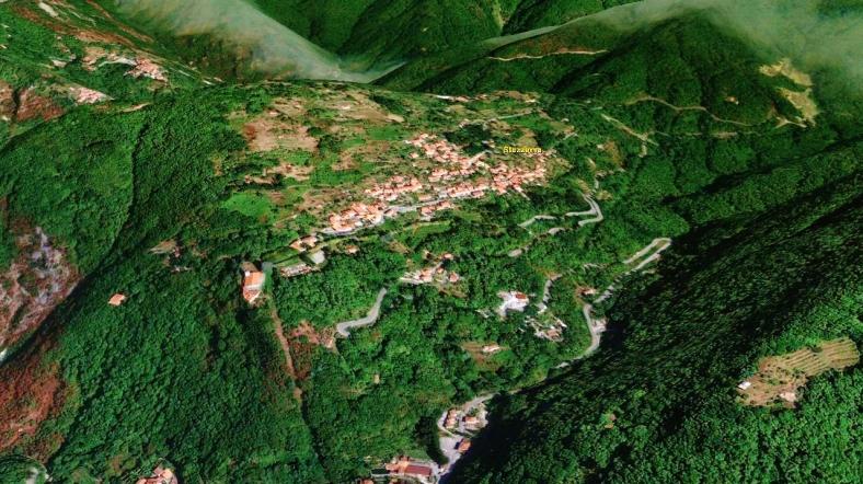 Forte dei Marmi Hostel, Map 5, Google Earth